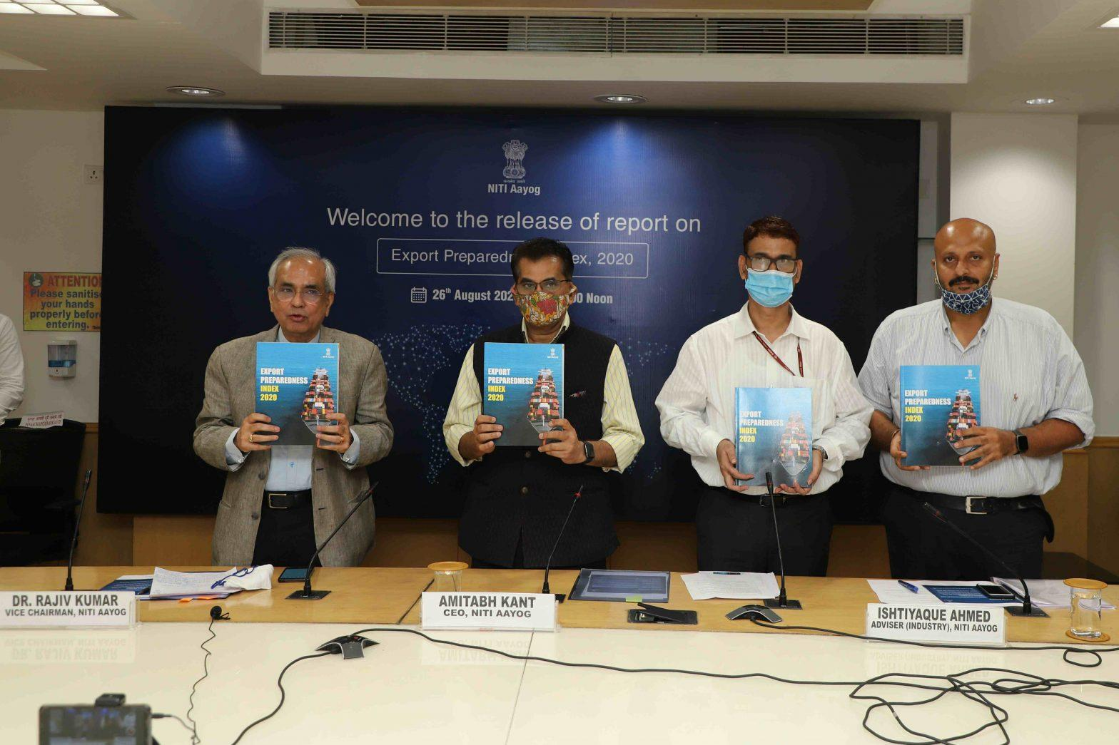 NITI Aayog releases report on Export Preparedness Index (EPI) 2020_40.1
