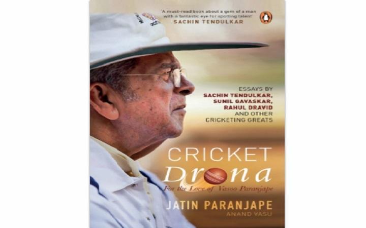A book title 'Cricket Drona' on renowned coach Vasoo Paranjape_40.1