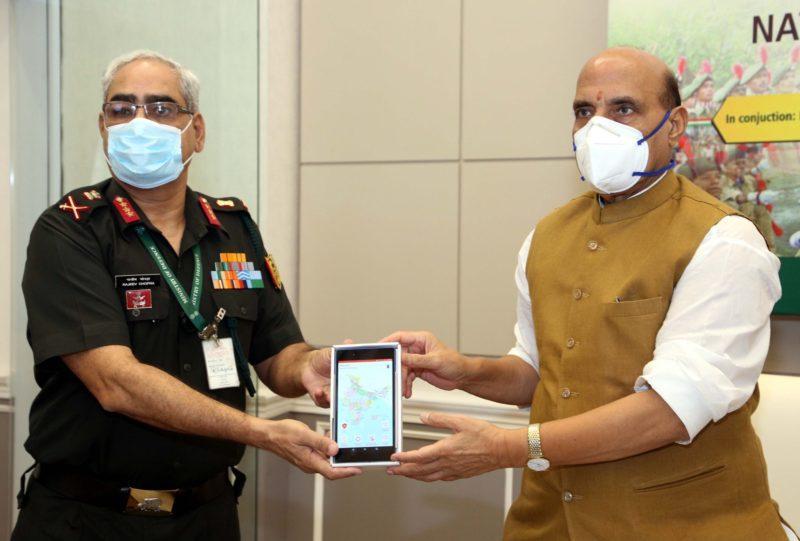 "Raksha Mantri launches ""DGNCC Training"" mobile App_40.1"