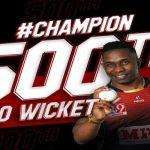 Dwayne Bravo becomes 1st bowler to scalp 500 wickets in T20 cricket