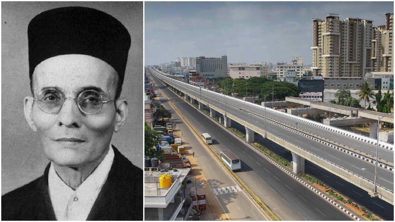 Karnataka CM inaugurates flyover named after Veer Savarkar_40.1