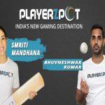 Bhuvneshwar Kumar & Smriti Mandhana became the brand ambassadors of Playerzpot