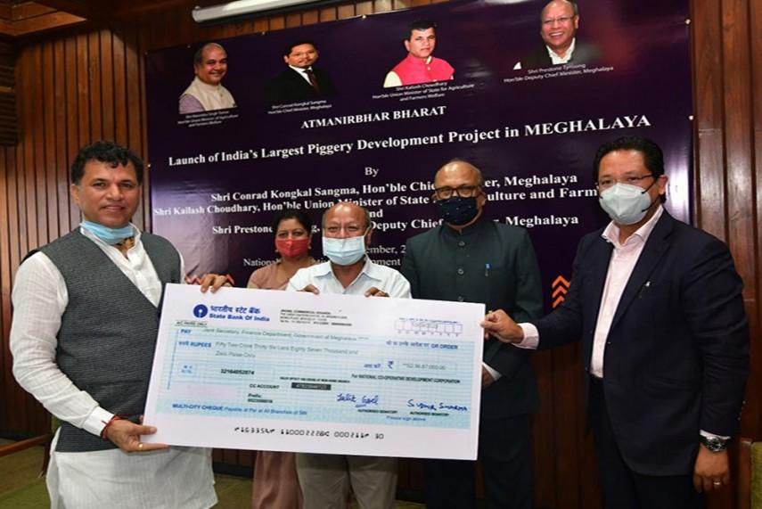 """Meghalaya launched India's largest """"Piggery Mission""""_40.1"""