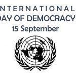 International Day of Democracy: 15 September