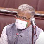 Harivansh Narayan Singh re-elected as Deputy Chairman of Rajya Sabha