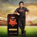 Paytm First Games ropes in Sachin Tendulkar as brand ambassador