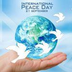 International Day of Peace: 21 September