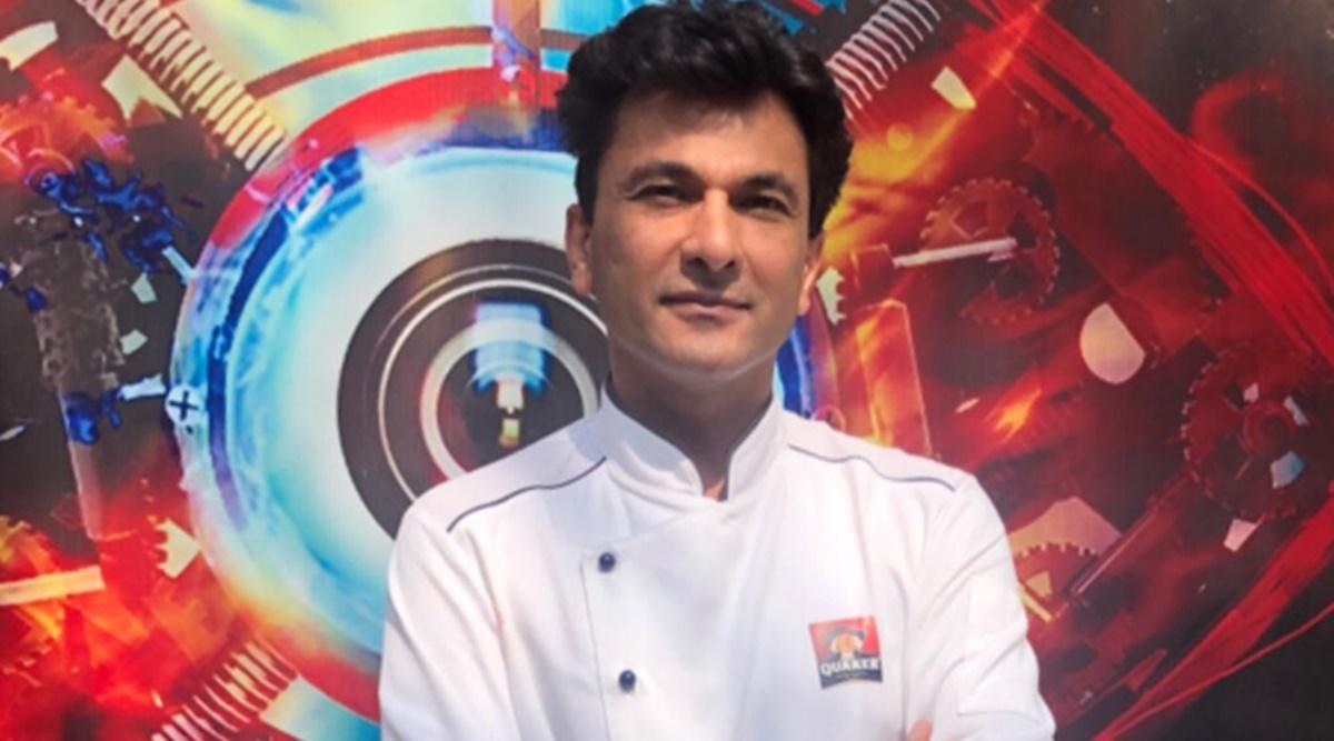 """A book titled """"Kitchens of Gratitude"""" authored by Chef Vikas Khanna_40.1"""