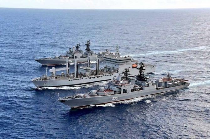 Indian Navy conducts Passage Exercise with Royal Australian Navy_40.1