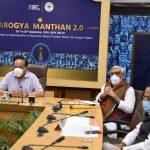 Dr. Harsh Vardhan chairs 'Aarogya Manthan' 2.0