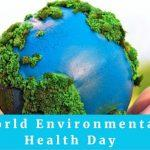 World Environmental Health Day: 26 September