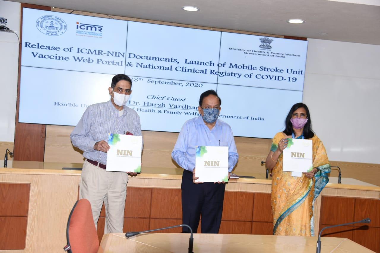 Dr Harsh Vardhan launches ICMR's vaccine web portal_40.1