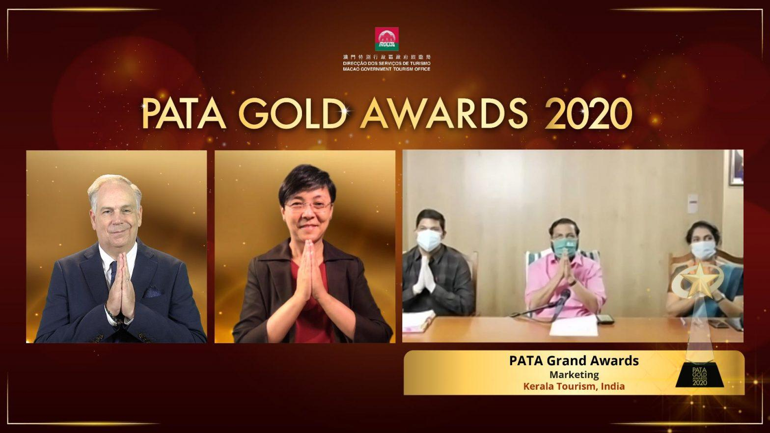Kerala Tourism wins PATA Grand Award 2020_40.1