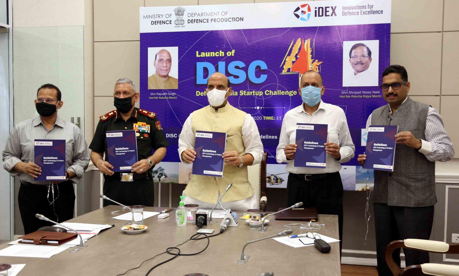 """Defence Minister launches """"Defence India Startup Challenge-4""""_40.1"""