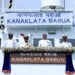 Indian Coast Guard Vessel Karnaklata Barua commissioned at Kolkata