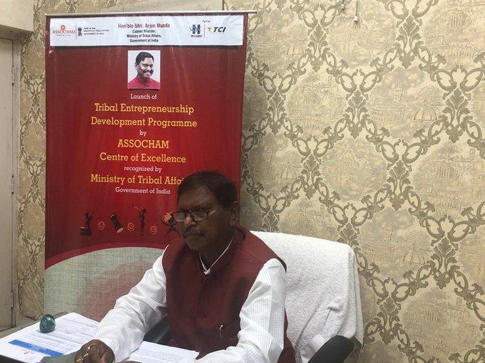 Shri Arjun Munda launches Tribal Entrepreneurship Development Programme_40.1