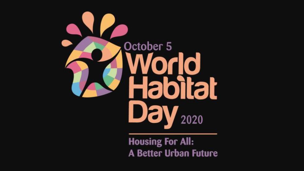 World Habitat Day 2020: 5 October_40.1