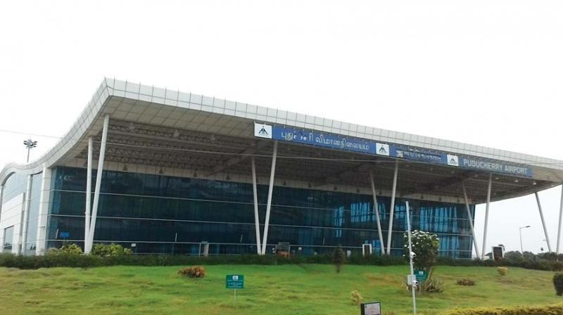 Puducherry airport becomes AAI's first 100% solar-powered airport_40.1