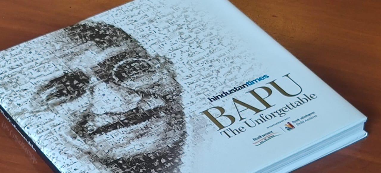 "Delhi's Deputy CM Manish Sisodia launches a book ""Bapu-The unforgettable""_40.1"