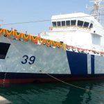 Indian Coast Guard 7th Offshore Patrol Vessel 'Vigraha' launched