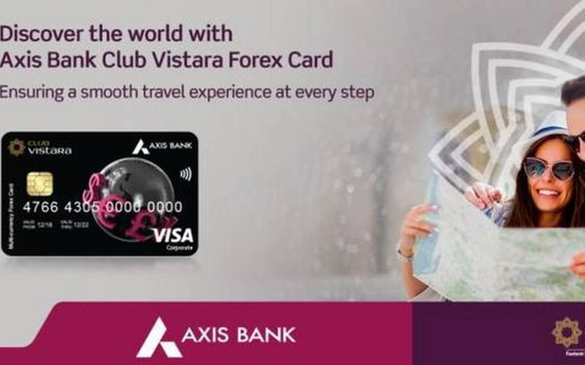 Axis Bank tie-up with Vistara to launch co-branded forex card_40.1
