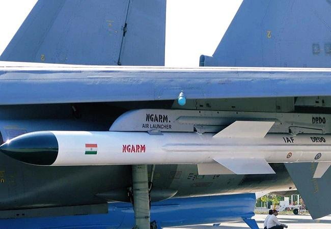 """DRDO successfully test-fires anti-radiation missile """"Rudram""""_40.1"""