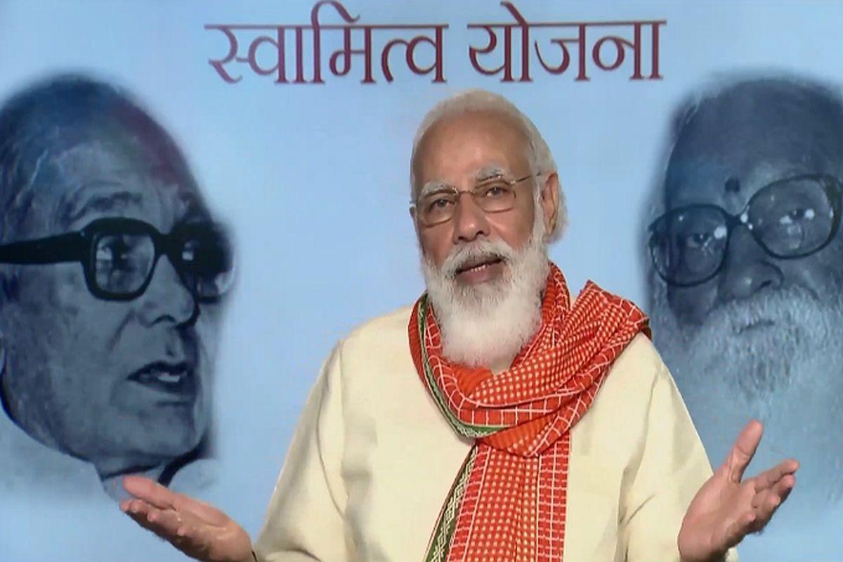 SVAMITVA Scheme: PM Modi launches physical distribution of Property Cards_40.1