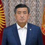 Kyrgyzstan President Sooronbai Jeenbekov resigns