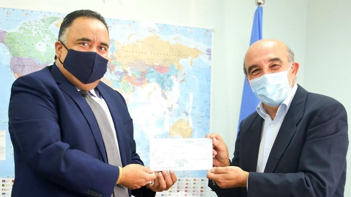 India contributes 1 million dollars to UNRWA for Palestine Refugees_40.1