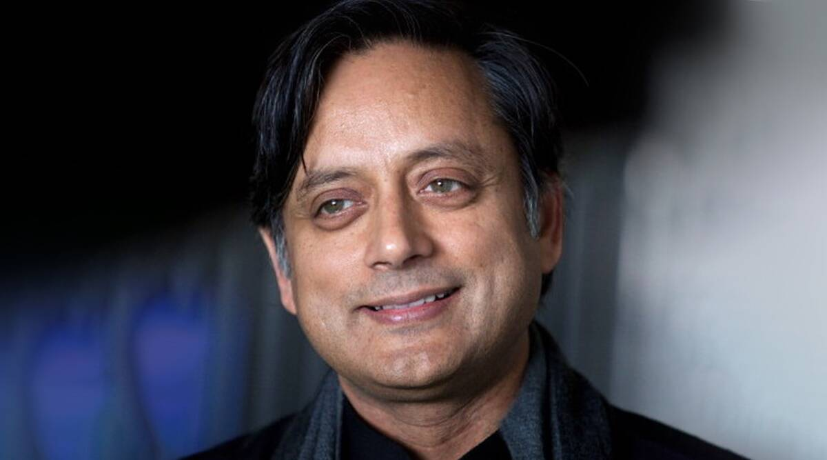 A book titled 'The Battle of Belonging' authored by Shashi Tharoor_40.1