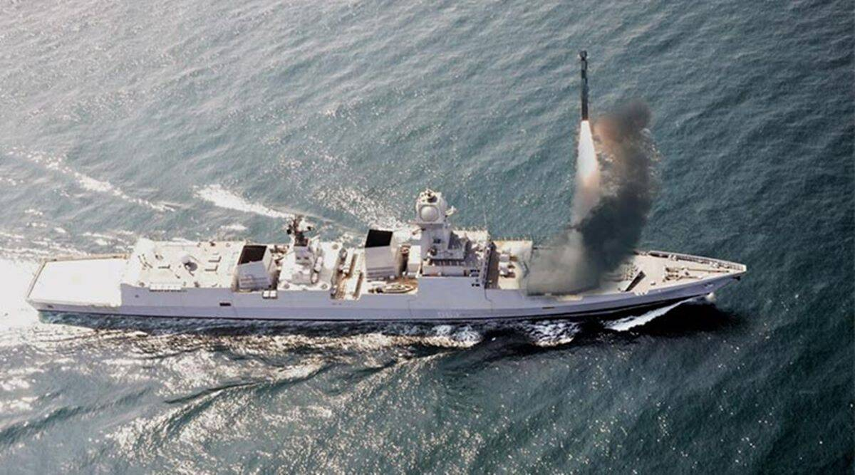 India successfully test-fires BrahMos missile from INS Chennai_40.1