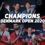 Nozomi Okuhara and Anders Antonsen wins Denmark Open 2020