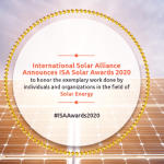 ISA Solar Awards conferred for the first time