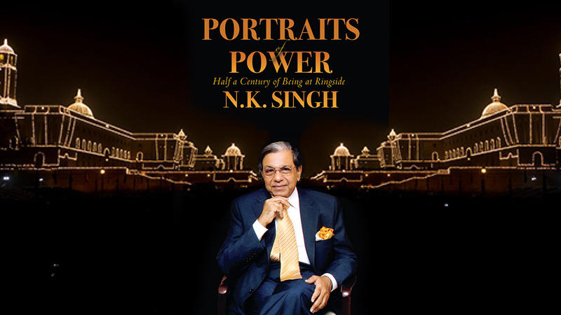 NK Singh launches his autobiography 'Portraits Of Power'_40.1