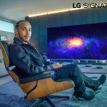 LG signs Lewis Hamilton as ambassador of LG Signature