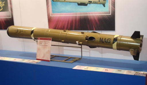 DRDO successfully conducts final trial of Nag anti-tank guided missile_40.1