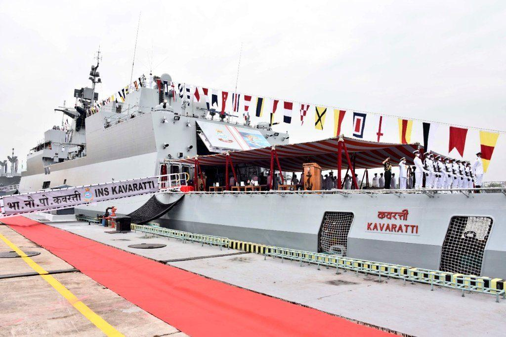 """""""INS Kavaratti"""" commissioned into Indian Navy_40.1"""