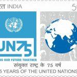 India Posts releases 75th Anniversary of UN Commemorative Stamp