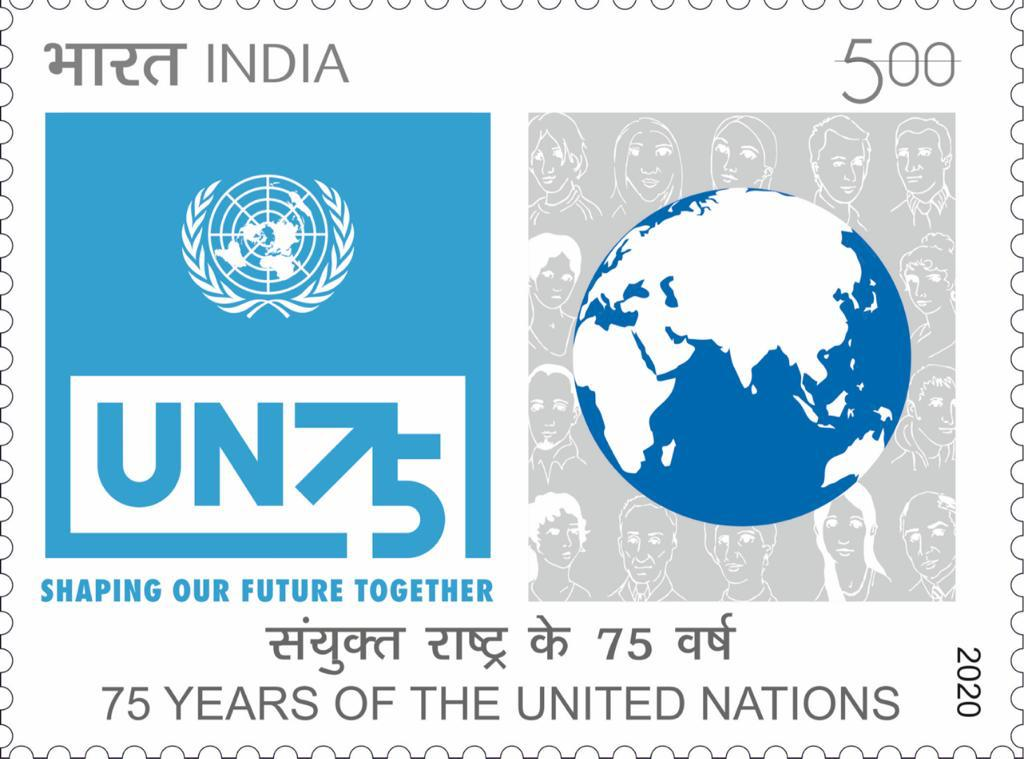 India Posts releases 75th Anniversary of UN Commemorative Stamp_40.1