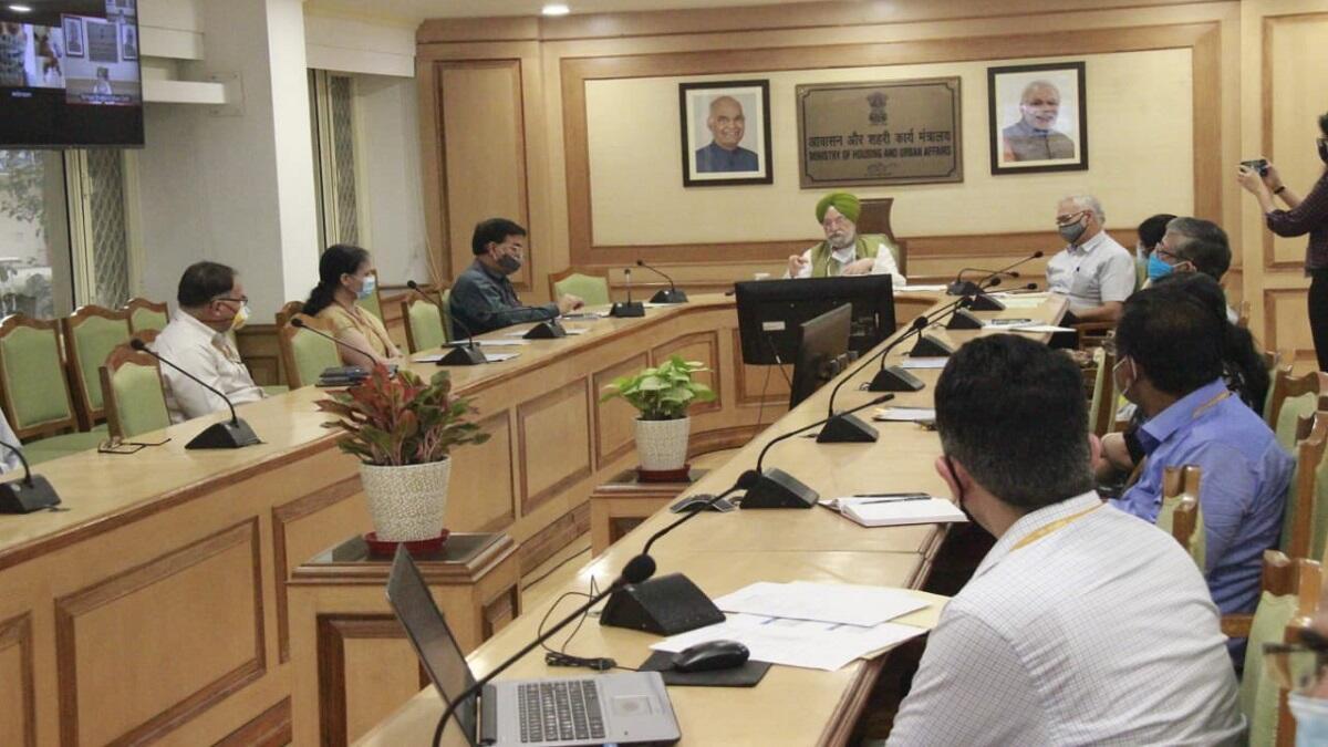 Union Minister Hardeep Singh Puri launches 'e-Dharti Geo portal'_40.1
