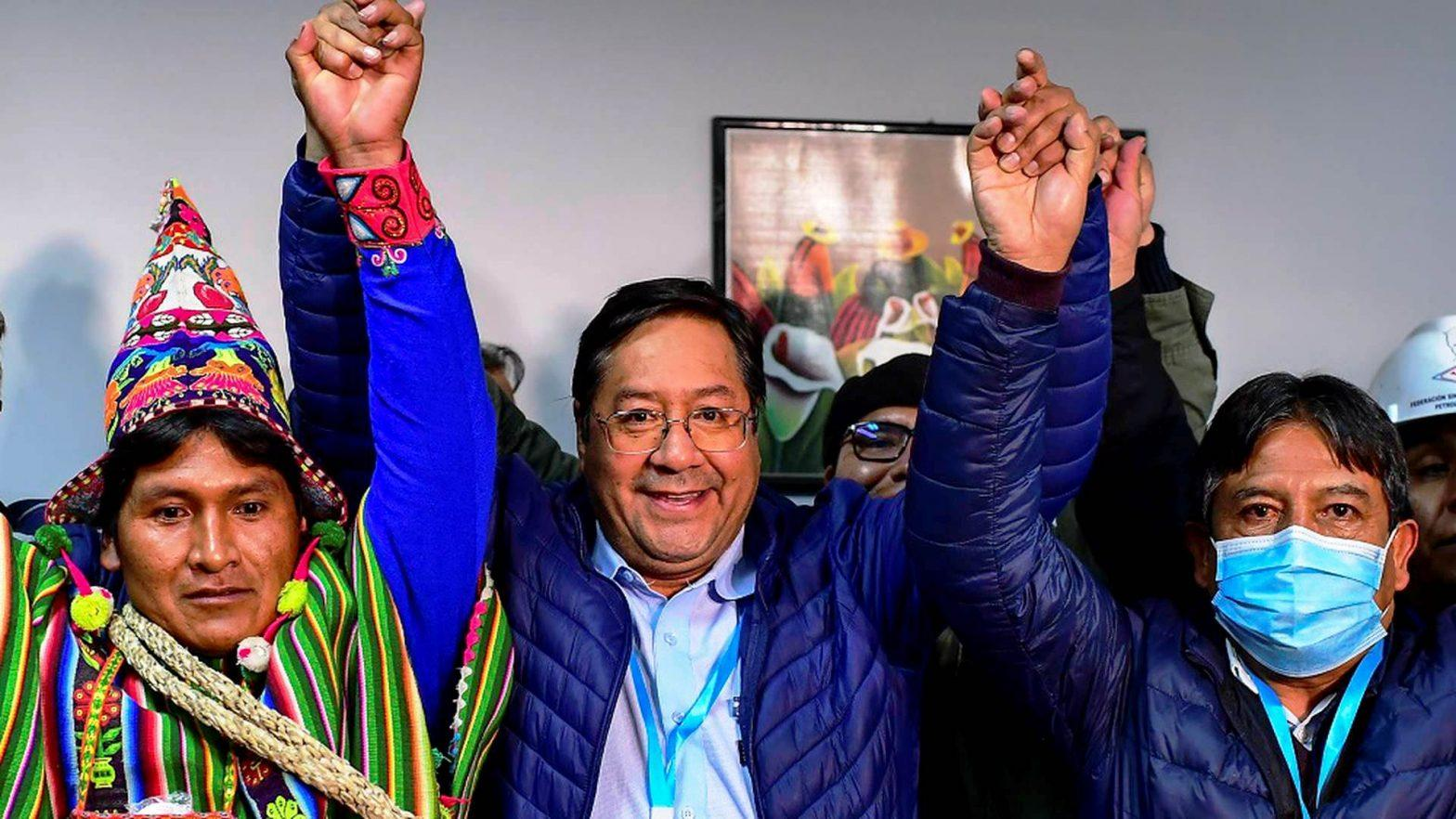 Luis Arce declared as Bolivia's president-elect_40.1