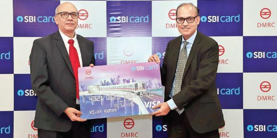 DMRC & SBI card launch multi-purpose smart card_40.1