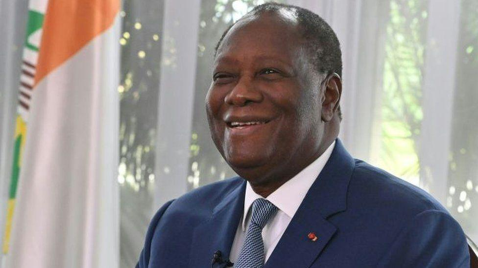 Ivory Coast President Alassane Ouattara wins 3rd term_40.1