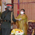 Indian Army chief made honorary General of Nepal Army