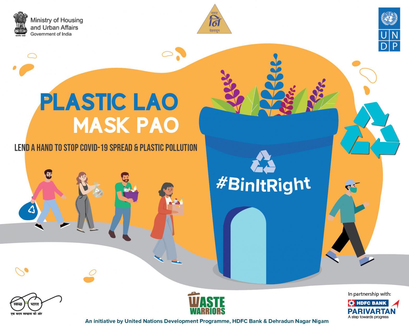 "DMC launched ""Plastic Lao MASK LE JAO"" initiative_40.1"