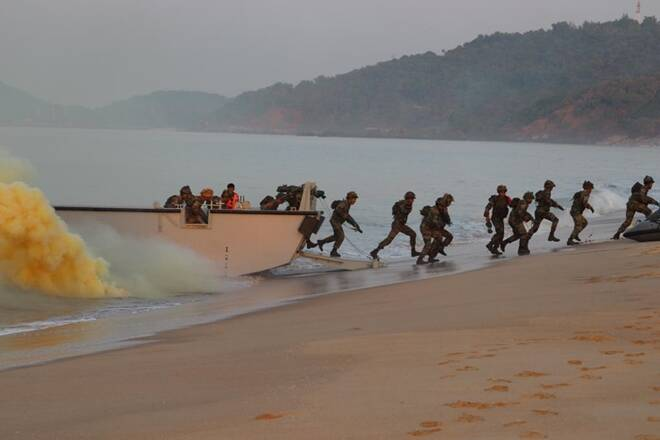India's special forces conducted 'Bull Strike' triservice exercise_40.1