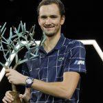 Russian Daniil Medvedev wins Paris Master 2020
