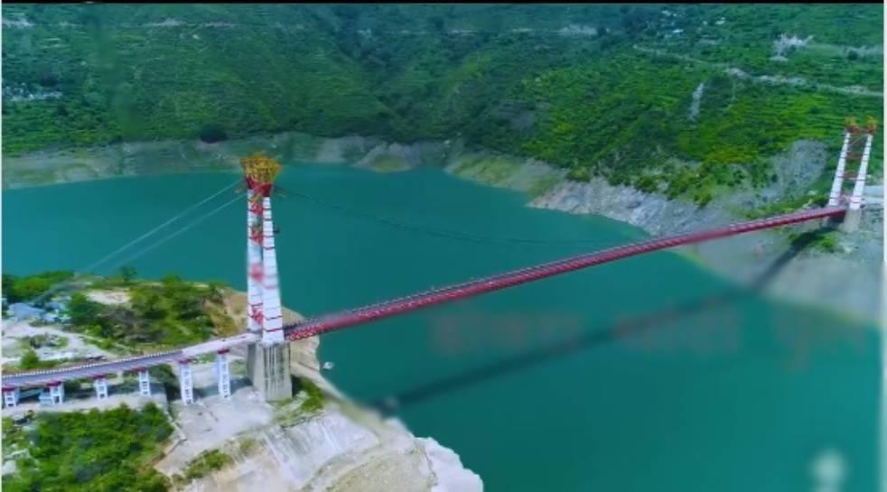Country's longest motorable single-lane bridge inaugurated in Uttarakhand_40.1