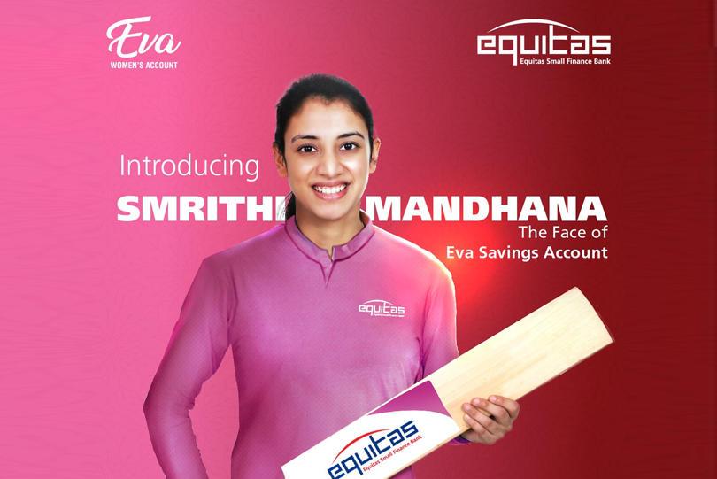 Equitas Small Finance Bank appoints Smriti Mandhana as brand ambassador_40.1