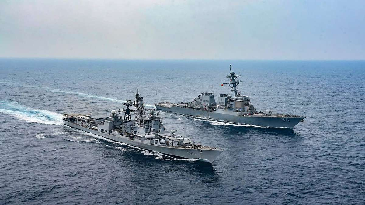 2nd Phase of Exercise Malabar 2020 begins in Arabian Sea_40.1